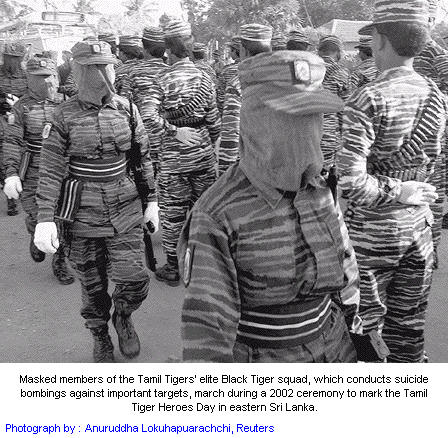 Black tigers of LTTE