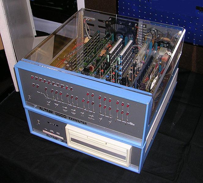 Altair bono computer made for gates BASIC program