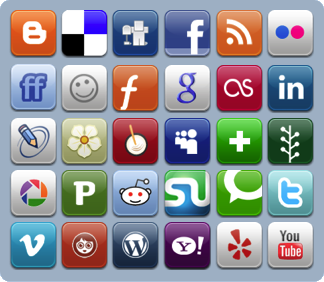 Adding Social boomarking buttons to blogger