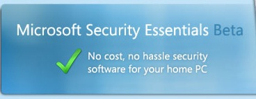 Microsoft Security Essentials Beta