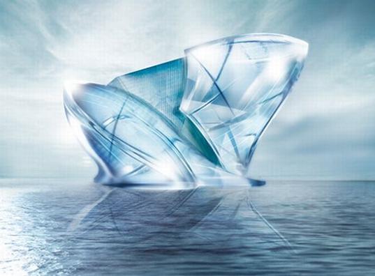 Blue-Crystal The Iceberg hotel