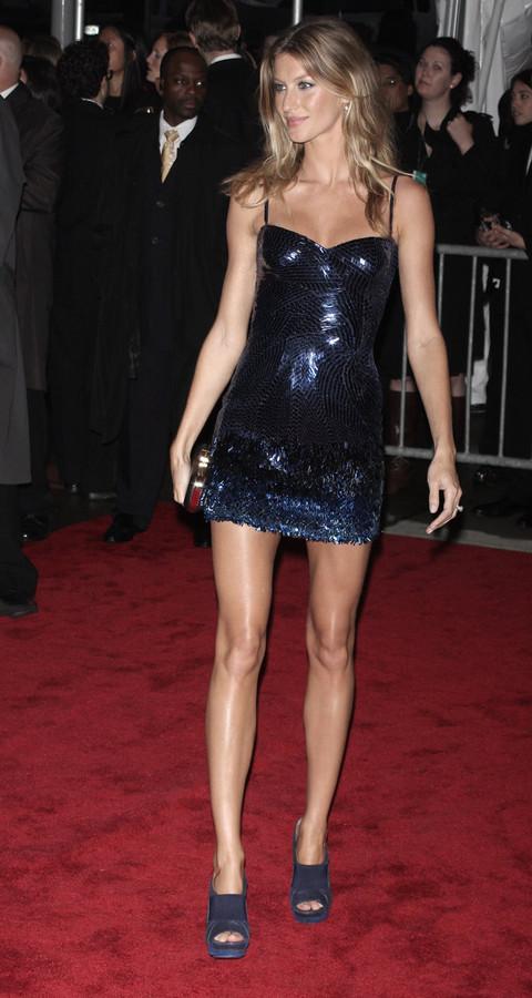 Gisele Bundchen at Metropolitan Museum of Art Costume Institute Gala 2009