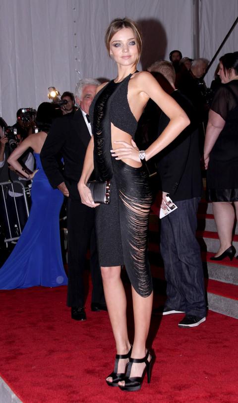 Miranda Kerr at Metropolitan Museum of Art Costume Institute Gala 2009