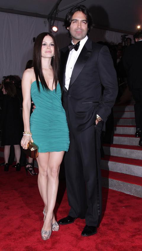 Rachel Bilson at Metropolitan Museum of Art Costume Institute Gala 2009