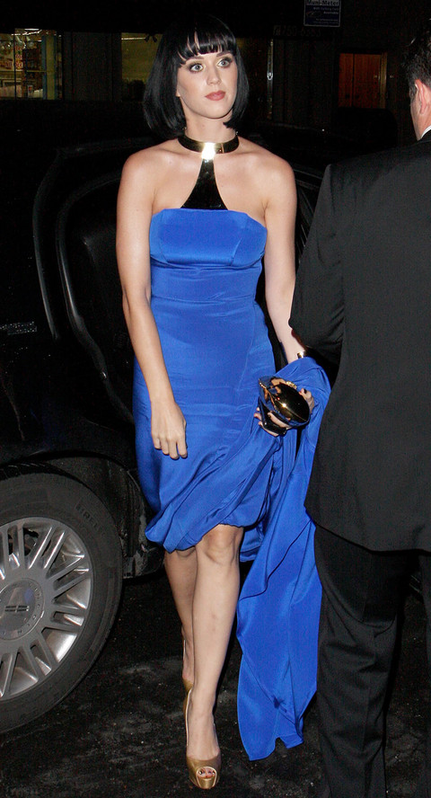 Kate Perry at Metropolitan Museum of Art Costume Institute Gala 2009