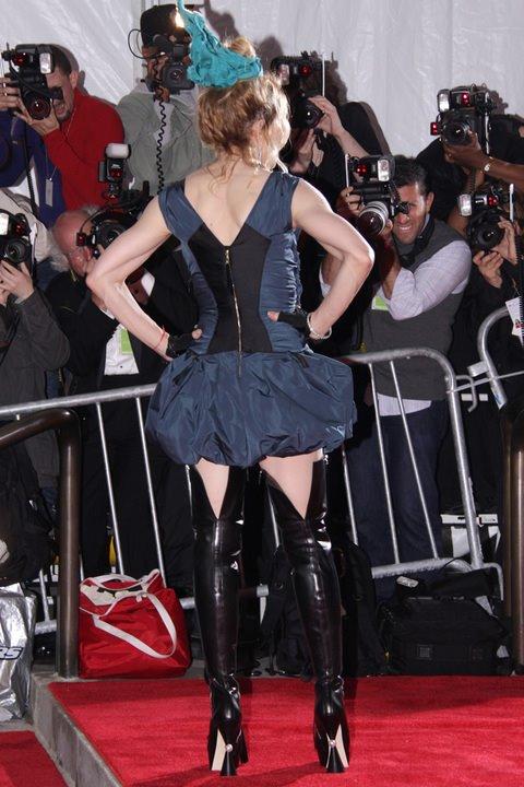 Madonna at Metropolitan Museum of Art Costume Institute Gala 2009