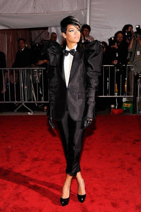 Rihanna Metropolitan Museum of Art Costume Institute Gala 2009