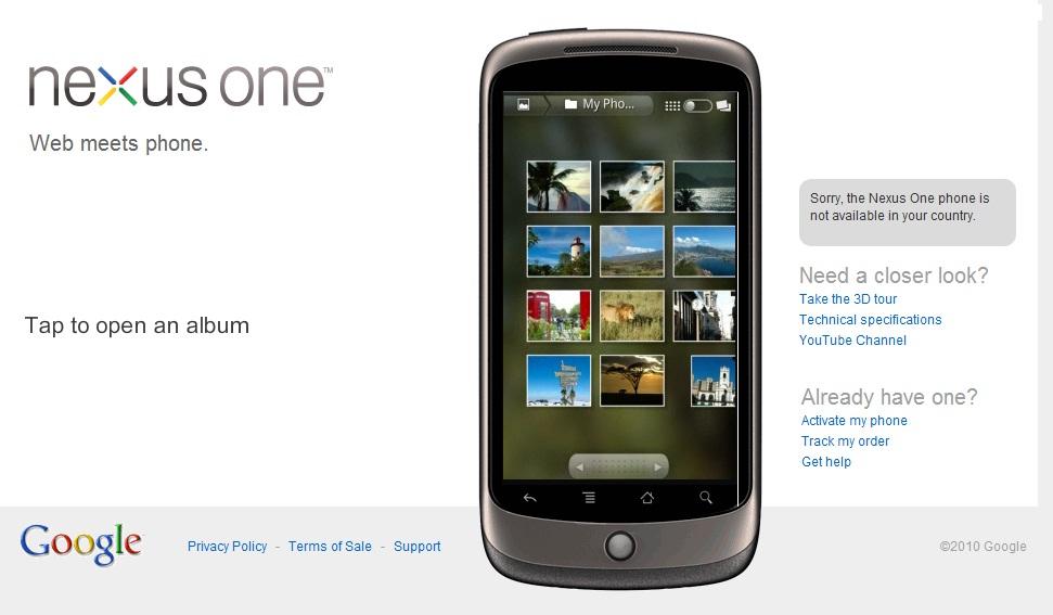 Virtual google phone Nexus