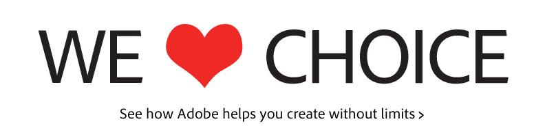 Adobe we love flash campaign